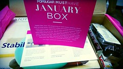 PopSugar Must Have Box - January 2013