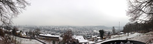 Aarau during winter by Davide Restivo