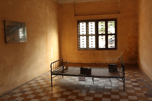 Holding cell S-21, by Flickr user Hanumann, licensed by Creative Commons.