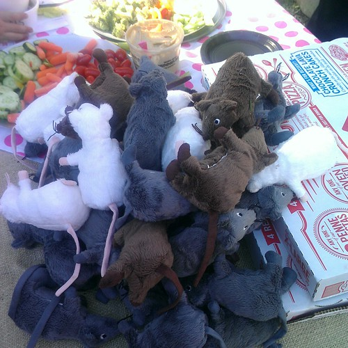 mess o' mice