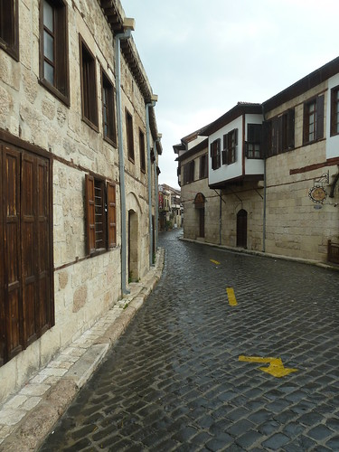 Road in old town Tarsus by mattkrause1969
