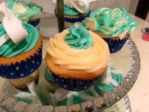 Tiffanys & Co Birthday Cupcakes Blue Top