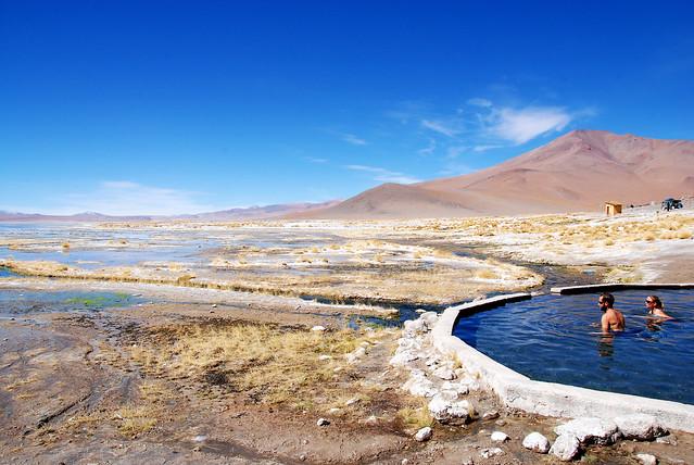 Source d'eau chaude, Bolivia - 2010