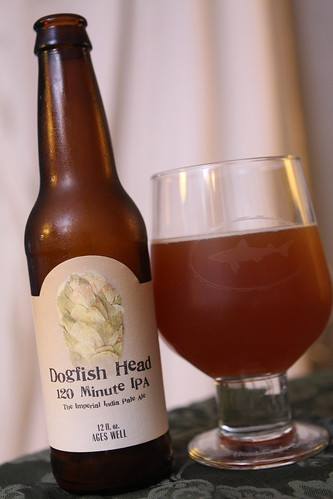 Dogfish Head 120 Minute IPA (2011 Batch)