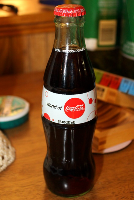 World of Coca-Cola bottle
