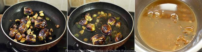 How to make puli kuzhambu - Step2