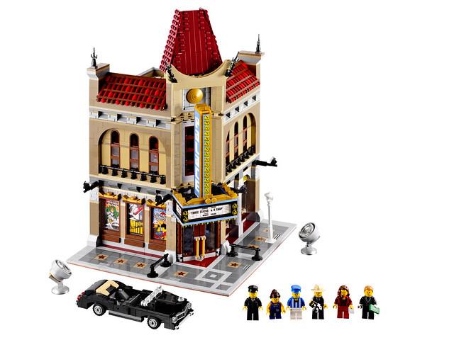 LEGO Creator Expert 10232 - Palace Cinema -Detail 01