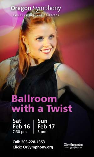 Ballroom with a Twist @ Oregon Symphony