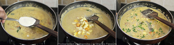 How to make paneer korma - Step4