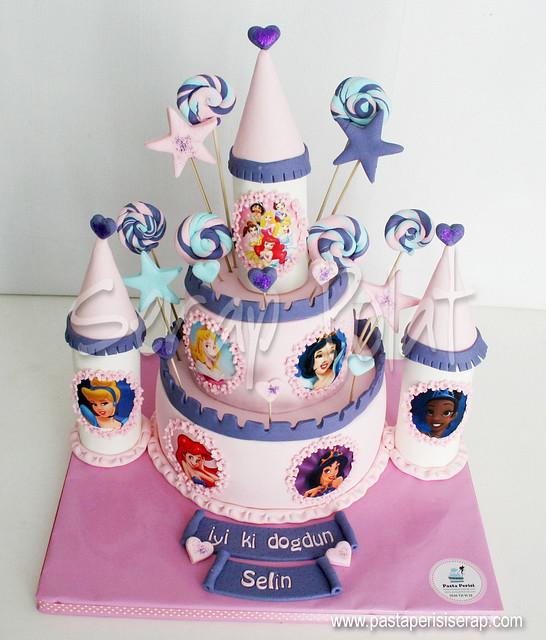 Disney Prenses Şato Pastası