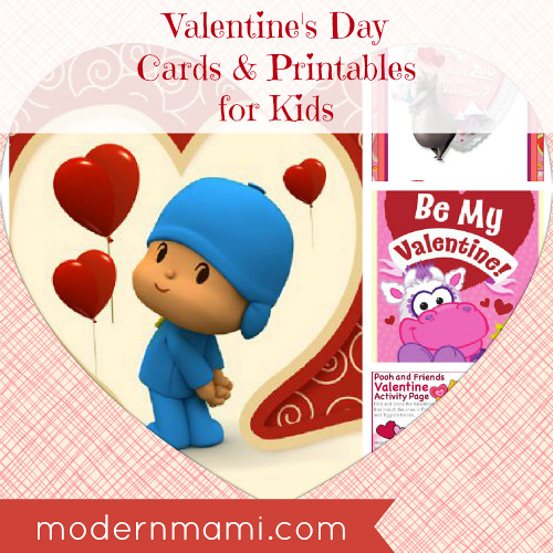 Valentine's Day Cards & Printables for Kids