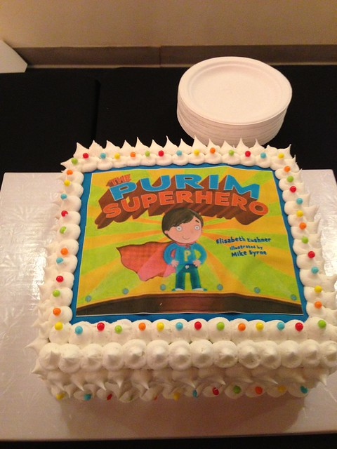 Flash Superhero Cake