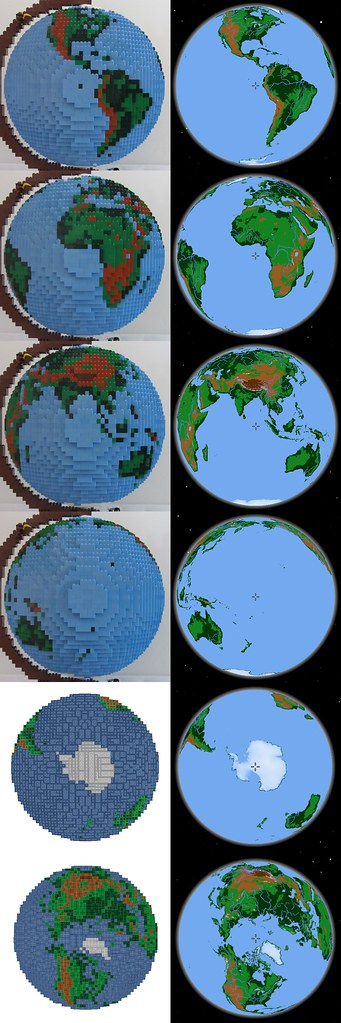dirks LEGO globe - compare to marble