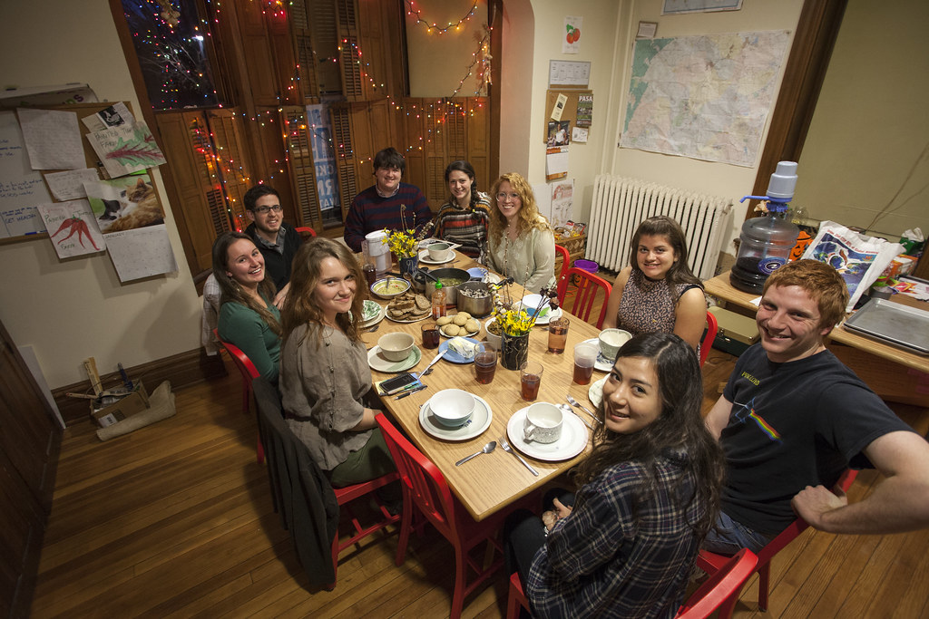 Farmhouse is a theme house at Gettysburg College dedicated to the promotion of sustainability and social justice through intentional living and, of course, good food.