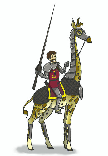 giraffe jousting2