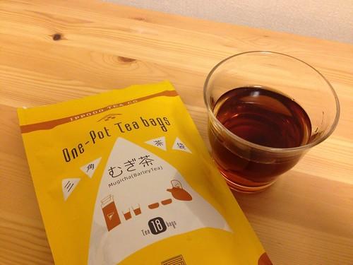 京都・一保堂茶舗の麦茶ティーバッグ