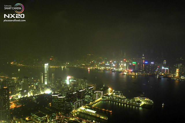 sky 100 hong kong lights