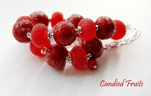 Candied Fruits Necklace by gemwaithnia
