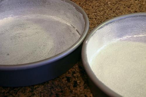Prepare pans