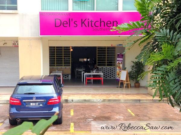Del S Kitchen Cafe Pj Nasi Ambang Laksa Johor Lontong Kacang Pol Rebecca Saw