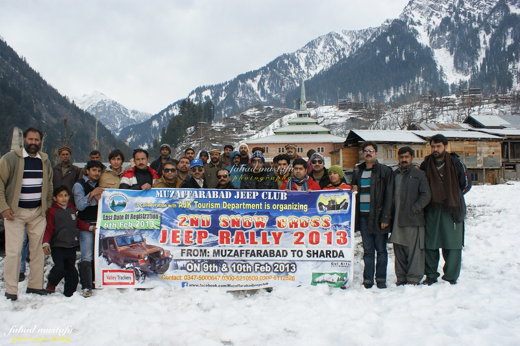 Muzaffarabad Jeep Club Neelum Snow Cross - 8471970258 ca88156bc6 b