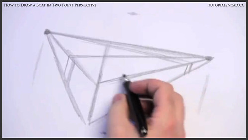 learn how to draw a boat in two point perspective 002