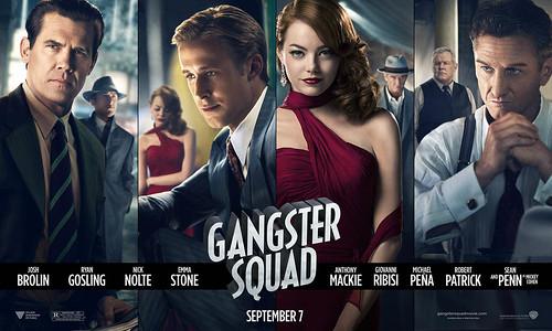 Gangster Squad (Brigada de élite) cines Golem Bilbao por JabierCalle by LaVisitaComunicacion