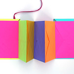 Thumbnail image for DIY Books: Day-Glo Accordion Book