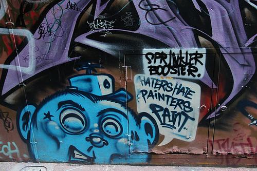 haters hate painters paint