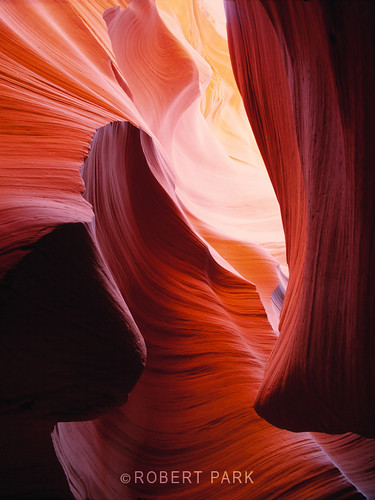 """Inner Sanctuary"" Antelope Canyon, By RobertPark http://www.robert-park.comf by Robert Park Photography"