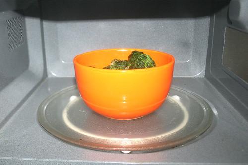 20 - Spinat auftauen / Defrost spinach