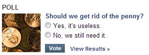 Yahoo Penny Poll