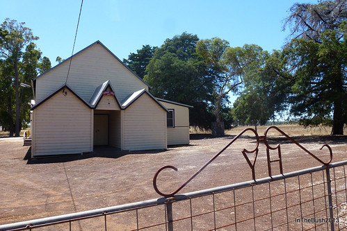 Yornup Hall, front gate