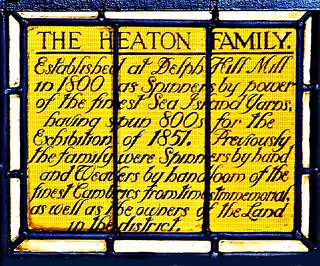 Stained Glass Window that graced the Factory of Heaton Family (3)