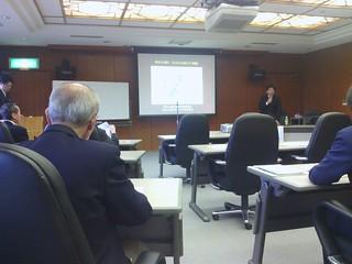 2013/2/19 高松丸亀町商店街の古川理事長の講演会