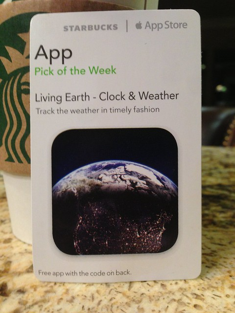 Itunes pick of the week 2 19 13 living earth clock weather