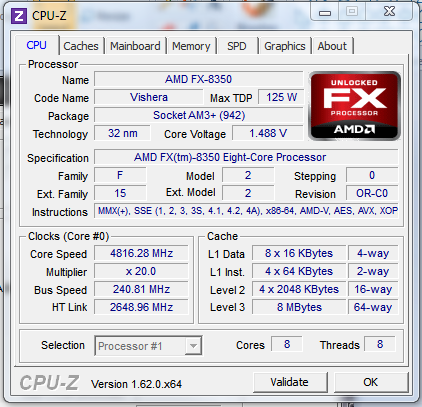 5Ghz Stable   really need the experts help on this one  8350