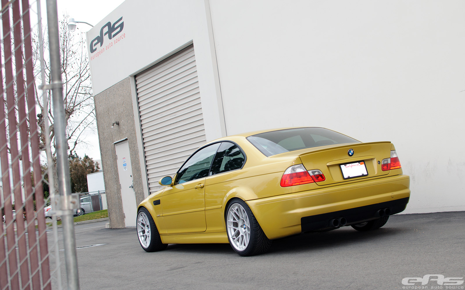 Phoenix Yellow E46 M3 On APEX ARC 8 Wheels BMW