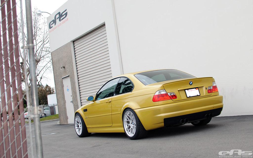 Eas Phoenix Yellow E46 M3 On Apex Arc 8 Wheels