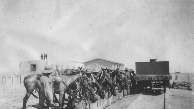 12. QODY Dabaa Railhead & Supply Point 1916