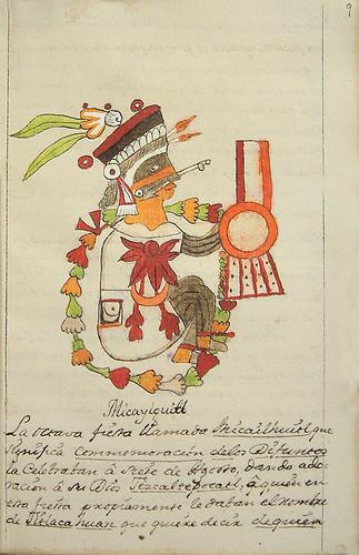014- Octava fiesta Micaylguitl-Códice Veitia- Biblioteca Virtual Miguel de Cervantes