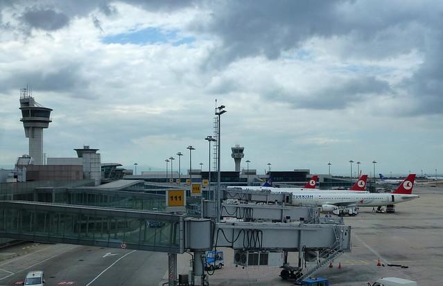 Turquie - jour 6 - D'Istanbul à Kas - 04 - Atatürk Havalimanı