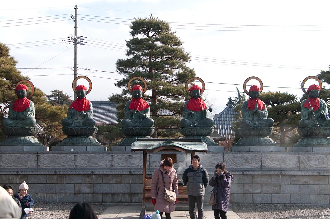 六地蔵|善光寺