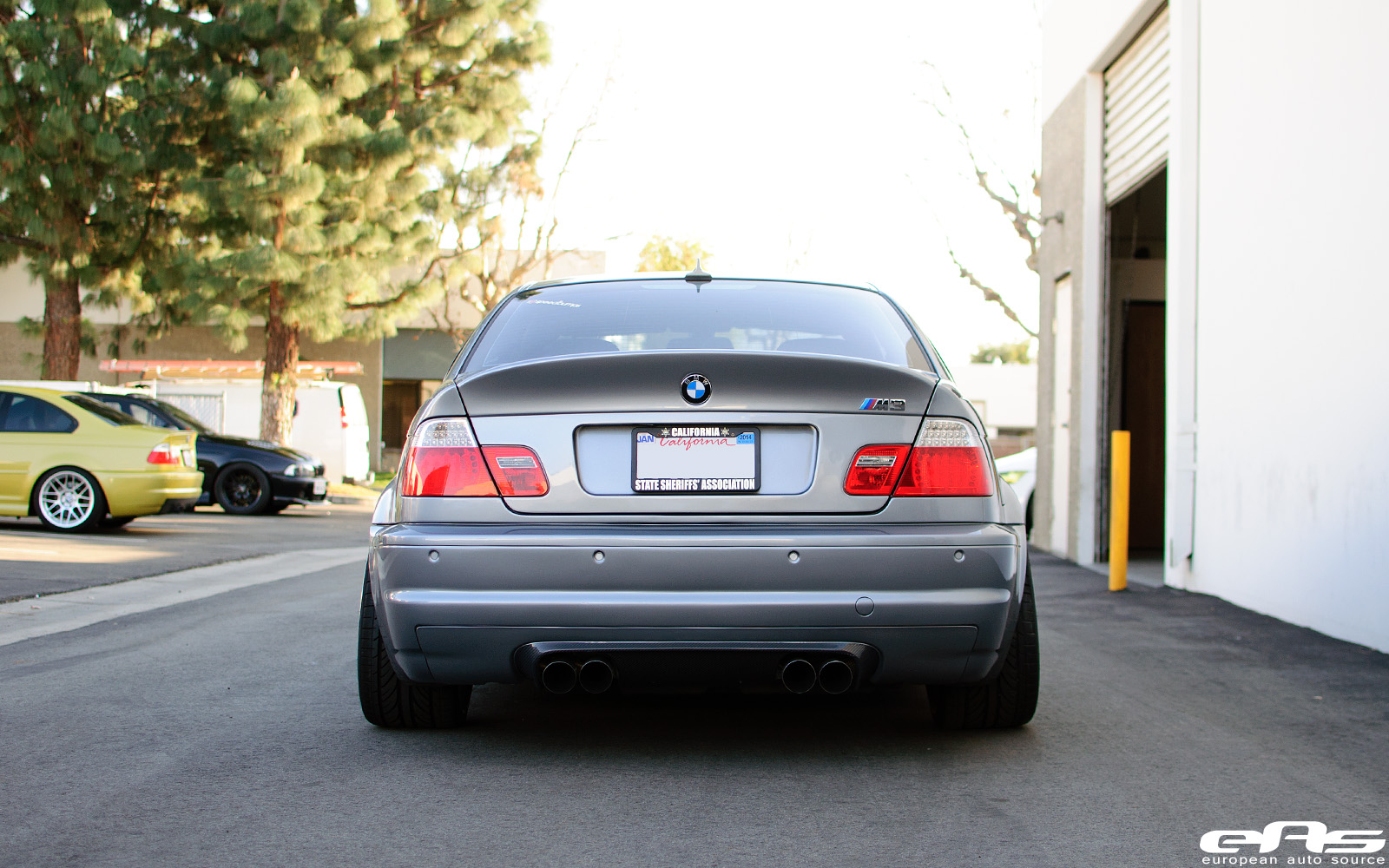 Silver Gray E46 M3 With Bbs Lms And Vorsteiner V Csl Exterior Bmw Performance Parts Amp Services