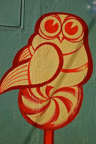 Mural Owl