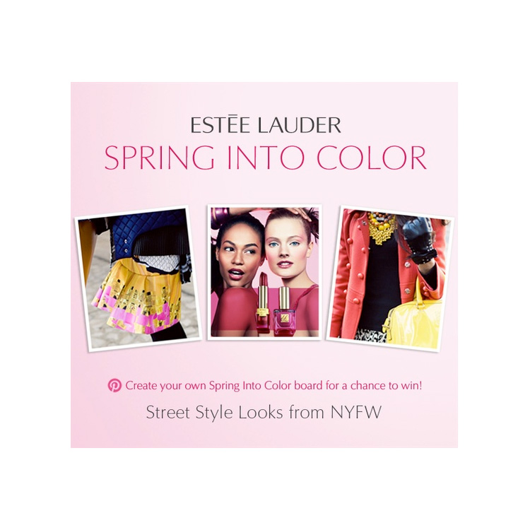 contest with estee lauder