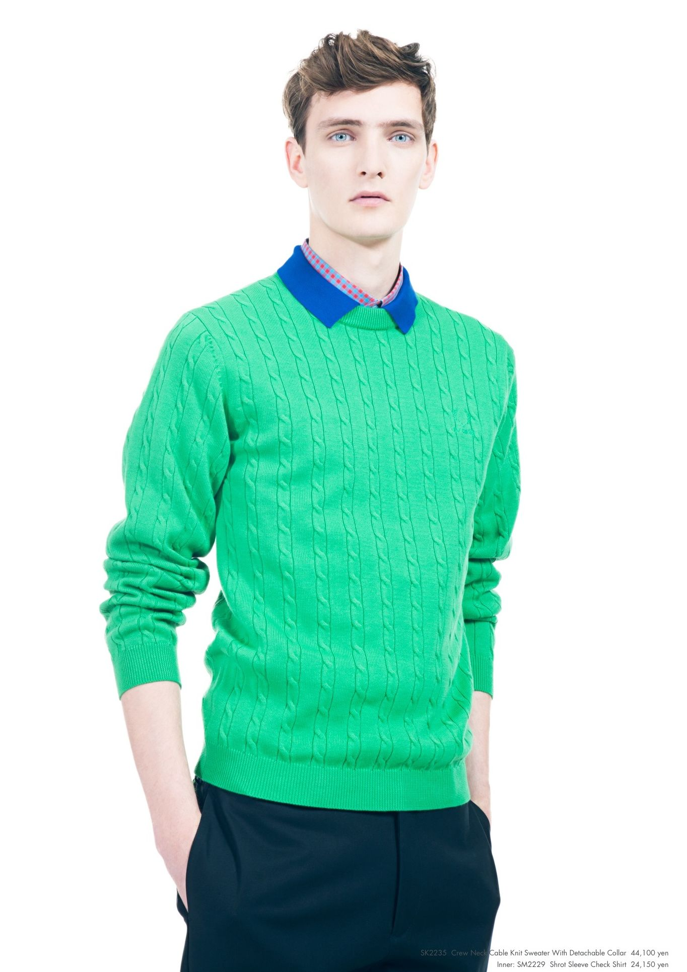 Yannick Abrath0045_Raf Simons × Fred Perry SS13