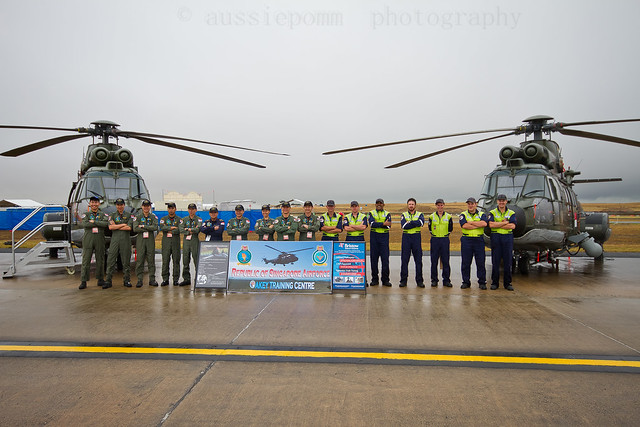 Republic of Singapore Airforce Team Avalon Airshow Trade Day