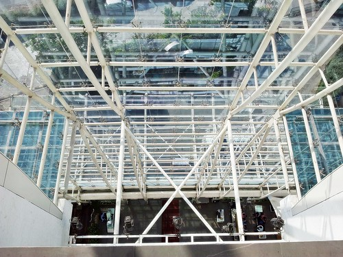 Sayaji Hotel Pune 05 - Scaffolding Art