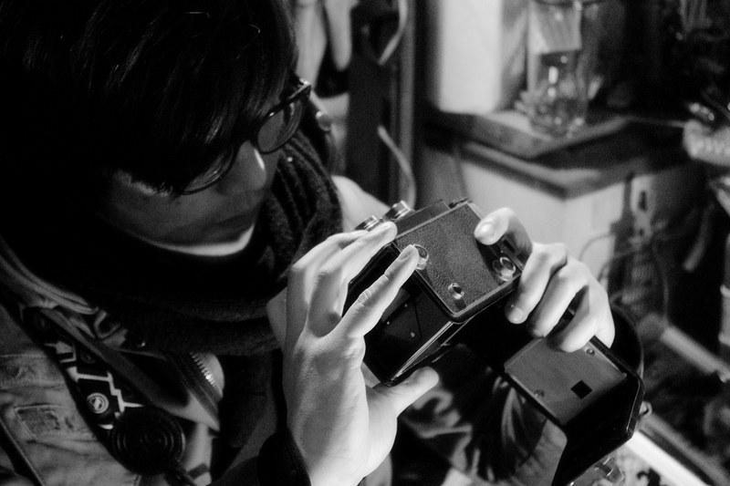 18天的日本行.不忘挑一下古董相機